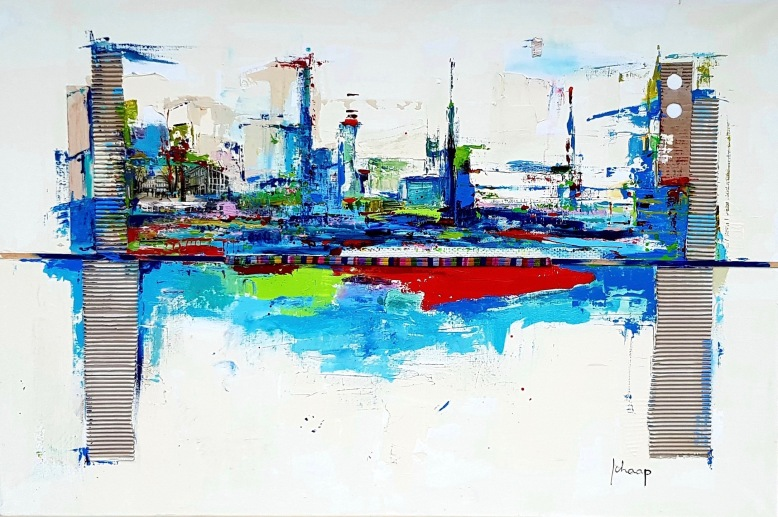 100 x 140 cm City by the sea .jpeg